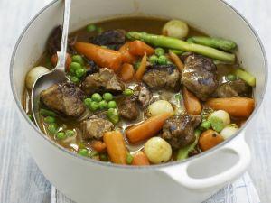Lamm-Gemüse-Topf Rezept