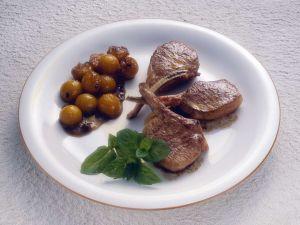 Lamm mit Kürbis Rezept