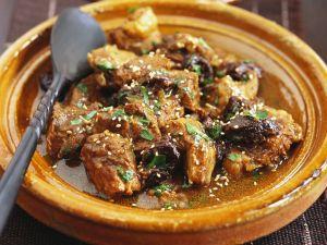 Lammfleisch in der Tajine Rezept