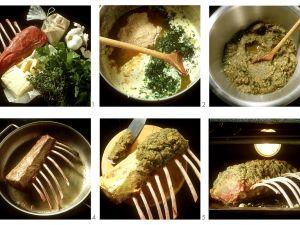 Lammkarree mit Kräuterkruste Rezept
