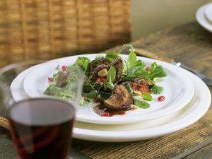 Lammnieren auf Feldsalat Rezept