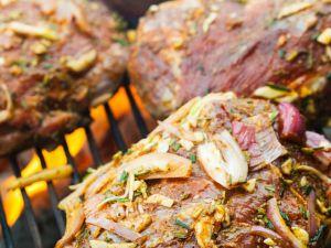 Lammsteaks mit Schalotten-Marinade Rezept