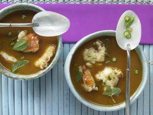 Langusten-Kokos-Suppe Rezept