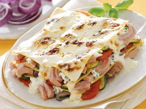 Lasagne Isolane mit Thunfisch und Ricotta Rezept