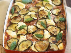 Lasagne mit Auberginen Rezept