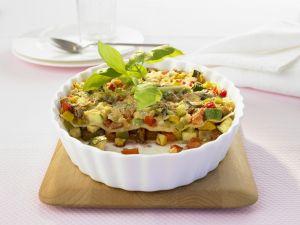 Lasagne mit buntem Gemüse Rezept
