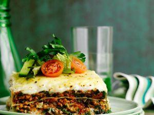 Lasagne mit Gemüse-Bolognese Rezept