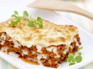 Lasagne mit Hackfleisch Rezept