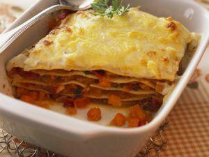 Lasagne mit Kürbis Rezept