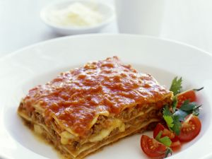 Lasagne mit Rinderhack Rezept
