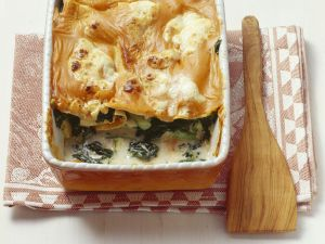 Lasagne mit Rucola und Gemüse Rezept