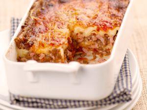 Lasagne mit Speck Rezept
