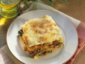 Lasagne mit Spinat Rezept
