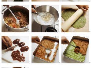 Lasagne mit Spinatnudeln Rezept