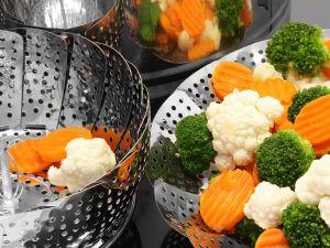Super fettarm und figurfreundlich: Lebensmittel dämpfen
