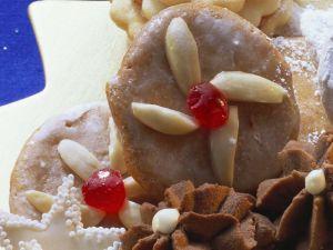 Lebkuchen mit Zuckerglasur Rezept