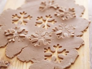 Lebkuchen-Schneeflocken Rezept