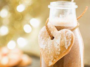 Weihnachtliche Lebkuchenmilch selber machen