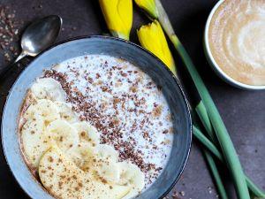 Leinsamen-Pudding selber machen