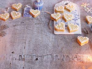 Lemon-Curd-Herzen Rezept