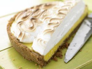 Limetten-Baiser-Kuchen Rezept