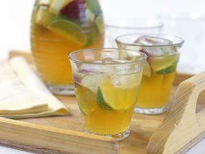 Limetten-Ingwer-Bowle Rezept
