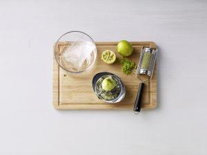 Limetten-Joghurt-Mousse zaubern