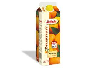 Erfrischend, süß, lecker: der Lindavia Direktsaft Orange!