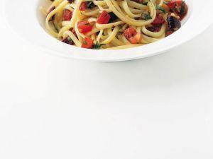 Linguine Puttanesca Rezept
