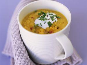 Linsen-Karotten-Suppe Rezept