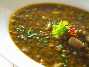 Linsen-Knoblauchsuppe Rezept