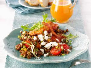 Linsen-Specksalat Rezept