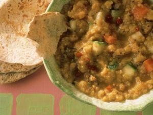 Linsen-Zucchini-Curry Rezept