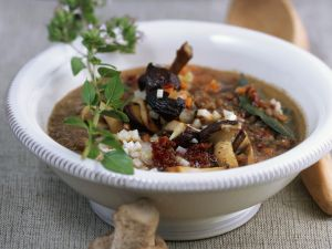 Linsensuppe mit Shiitake Rezept