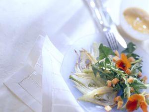Löwenzahn-Fenchelsalat mit Papaya Rezept