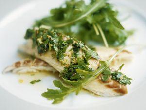 Loup de mer mit Gremolata Rezept