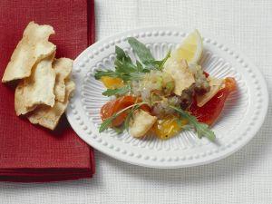Loup de mer-Tatar Rezept