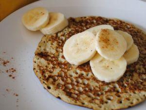 Low-Carb-Pancakes mit Banane Rezept