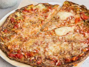 Low-Carb-Zucchinipizza Rezept