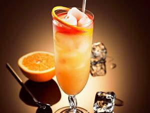 Lychee-Grapefruit-Cocktail Rezept