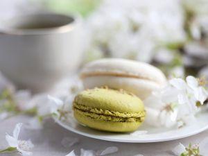 Macarons mit Grüntee Rezept