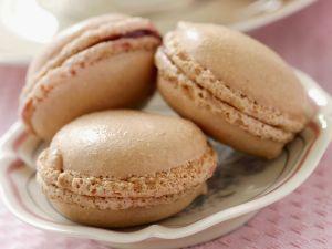Macarons mit Rosenmarmelade Rezept
