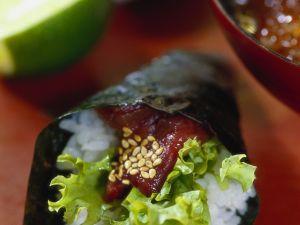 Maguro Temaki mit Thunfisch Rezept