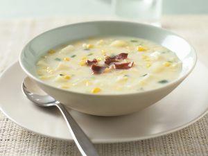 Mais-Kohlrabi-Suppe Rezept