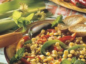 Mais-Paprikagemüse Rezept