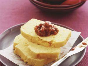 Maisbrot mit Tomatenchutney Rezept