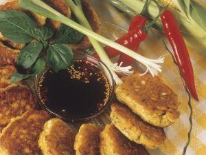 Maisküchlein mit Sauce Rezept