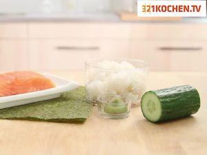 Einfache Maki-Sushi