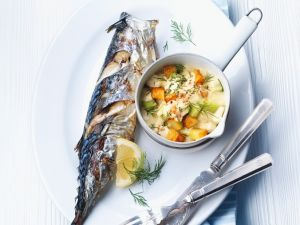 Makrele mit Gemüse Rezept
