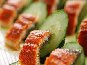 Makrele mit Gurken Rezept